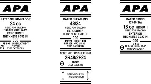 Apa Rated Sturd I Floor Underlayment Subfloor Apa The